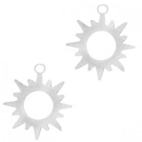 RVS bedeltje zon 304 Stainless Steel