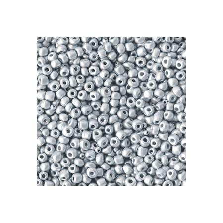 Rocailles 2mm Metallic silver