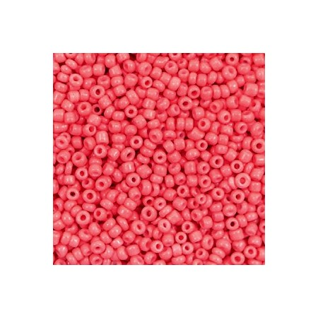 Rocailles 2mm Salmon red
