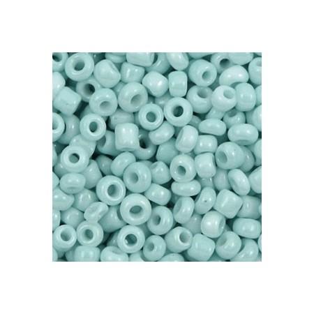 Rocailles 4mm Haze blue