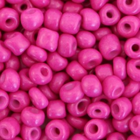 Rocailles 4mm Cerise pink