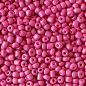 Rocailles 2mm Cerise pink
