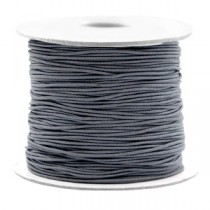 Gekleurde elastische draad 0.8mm Cool grey
