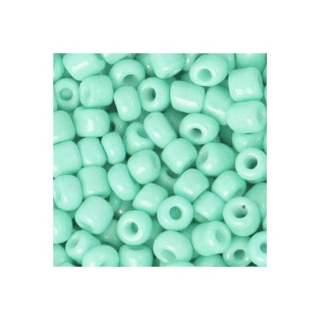 Rocailles 4mm Lucite green