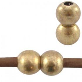 DQ metaal magneetsloten voor 2mm leer Antiek brons