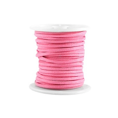 Imi suède 3mm Indian pink