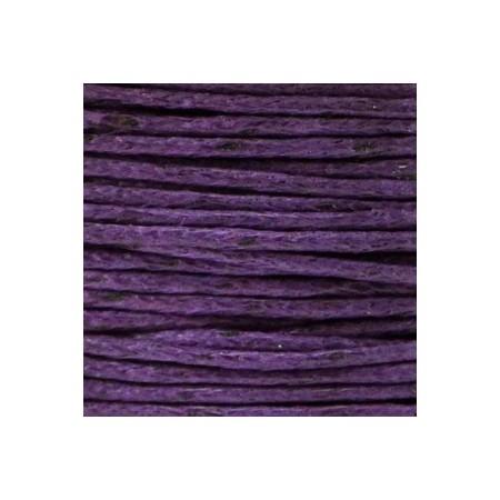 Waxkoord 1.0mm Purple