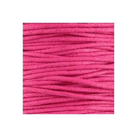 Waxkoord 1.5mm Hot Pink