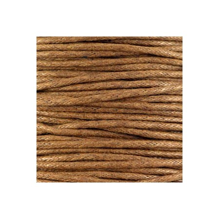 Waxkoord 1.5mm Medium brown