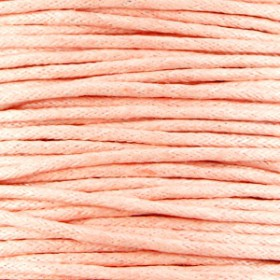 Waxkoord 1.5mm Soft peach