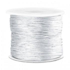 Macramé draad 0.7mm Silver