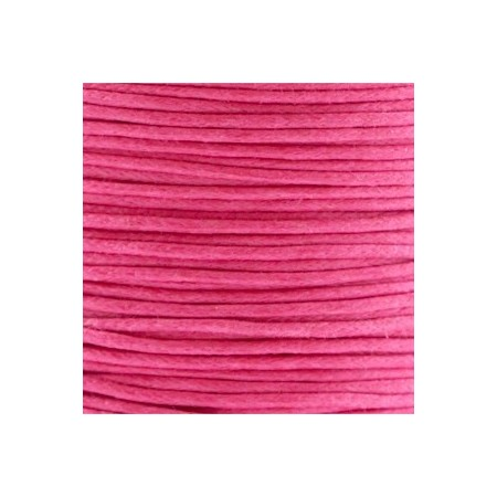 Waxkoord 1.0mm Raspberry Pink