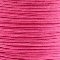 Waxkoord 1.0mm Rasberry Pink