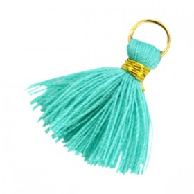 Kwastjes 1.8cm Goud Emerald groen