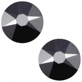 Swarovski Elements 2088-SS34 flatback Xirius Rose Jet hematite zwart