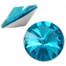 LC rivoli puntstenen 1122 - 12 mm Capri blue
