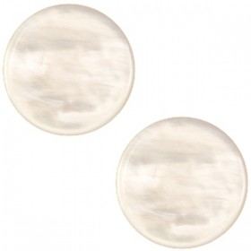 cabochon 7mm Polaris Parelmoer honey beige