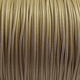 Nylon waxkoord 0.5mm beige