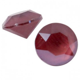 Swarovski SS 39 puntsteen (8 mm) Crystal dark red