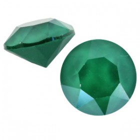 Swarovski SS 39 puntsteen (8 mm) Crystal royal green