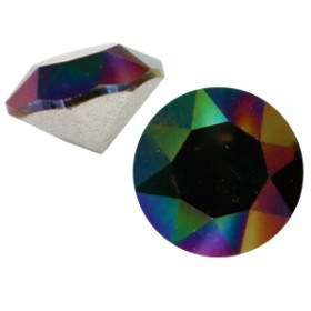 Swarovski SS 29 puntsteen (6.2 mm) Crystal rainbow dark