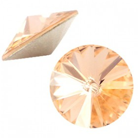 Swarovski Elements 1122- Rivoli puntsteen12 mm Light Peach