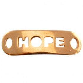 DQ metaal tussenstuk hope Rosé goud