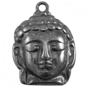 DQ hanger Buddha large Gunmetal (nikkelvrij)