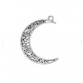 Hanger Crescent moon Antiek zilver