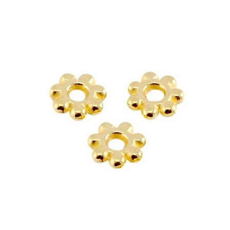 DQ spacer Bali ring 5.6mm Goud