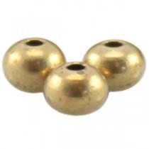 DQ metaal kraal 5 x 4 mm Antiek brons ( nikkelvrij )