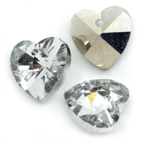 Glas hanger hart Crystal