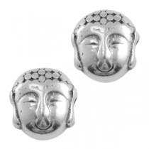 Kralen DQ metaal Buddha Antiek zilver (nikkelvrij)