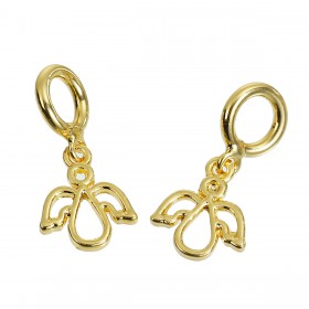 Charms Pendants engel Gold Plated