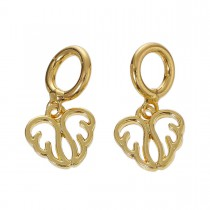 Charms Pendant vleugels Gold Plated