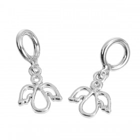 Charm Pendant engel Silver Plated