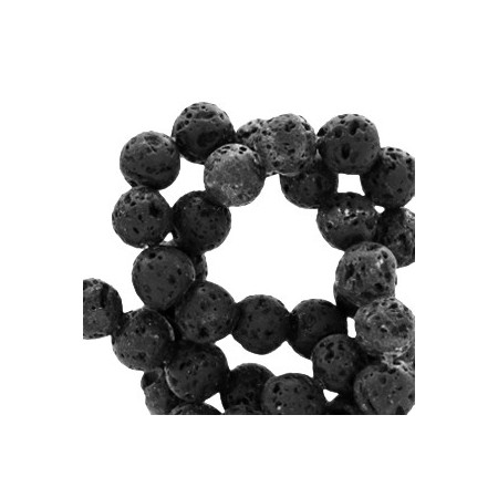 Natuursteen 8mm Lava black