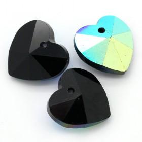 Glas hanger hart Black AB