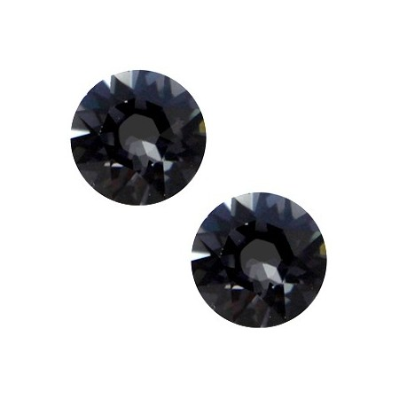 Swarovski Elements 2088-SS34 flatback Xirius Rose Graphite grey