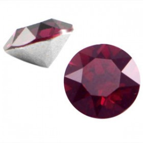 Swarovski SS 39 puntsteen (8 mm) Burgundy red