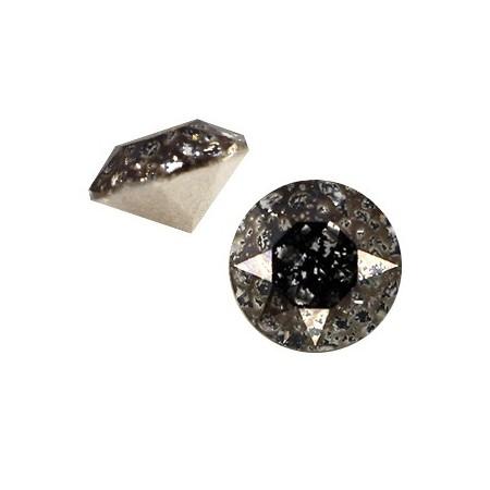 Swarovski SS29 puntsteen Crystal black patina