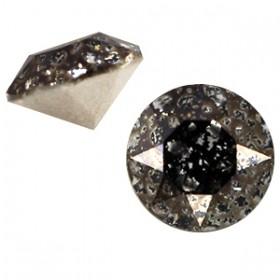 Swarovski SS 39 puntsteen (8 mm) Crystal black patina