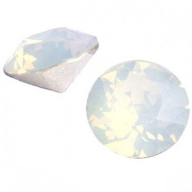 Swarovski SS39 puntsteen White opal