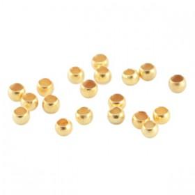DQ knijpkraaltjes 2.5mm Goud