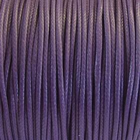Nylon waxkoord 1mm lila