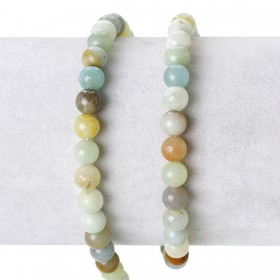 Half edelsteen Amazonite 6mm