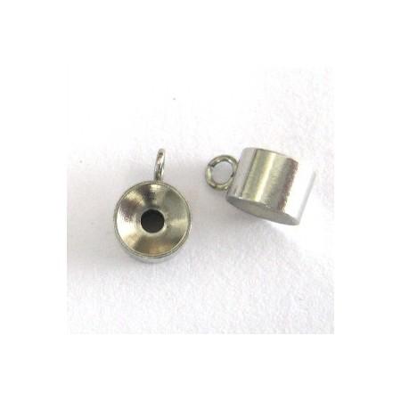 RVS spacer rondel met oog 304 Stainless steel