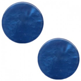 7 mm classic cabochon Mosso shiny Radiant blue