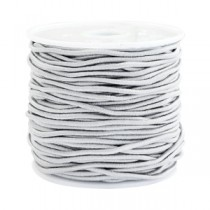 Gekleurde elastische draad 1.5mm Light grey