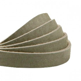 DQ leer plat 10mm nubuck Sage green